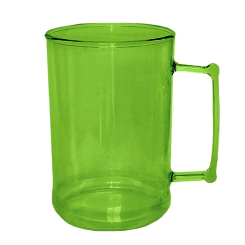 Caneca 500 Verde Neon