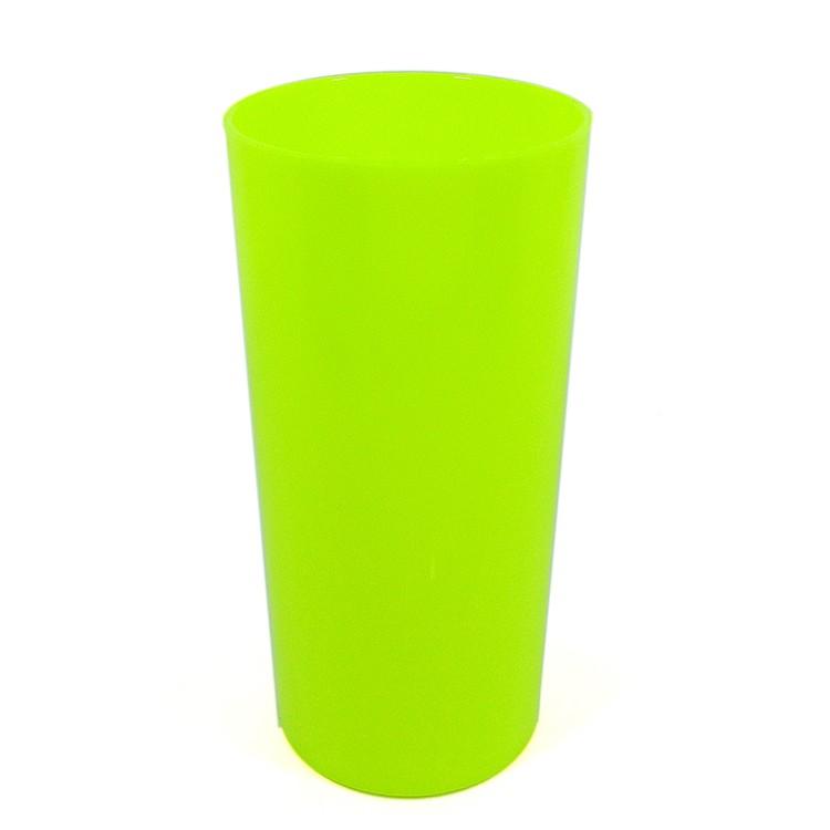 Long Drink Economico 320 Amarelo Fluor Solido