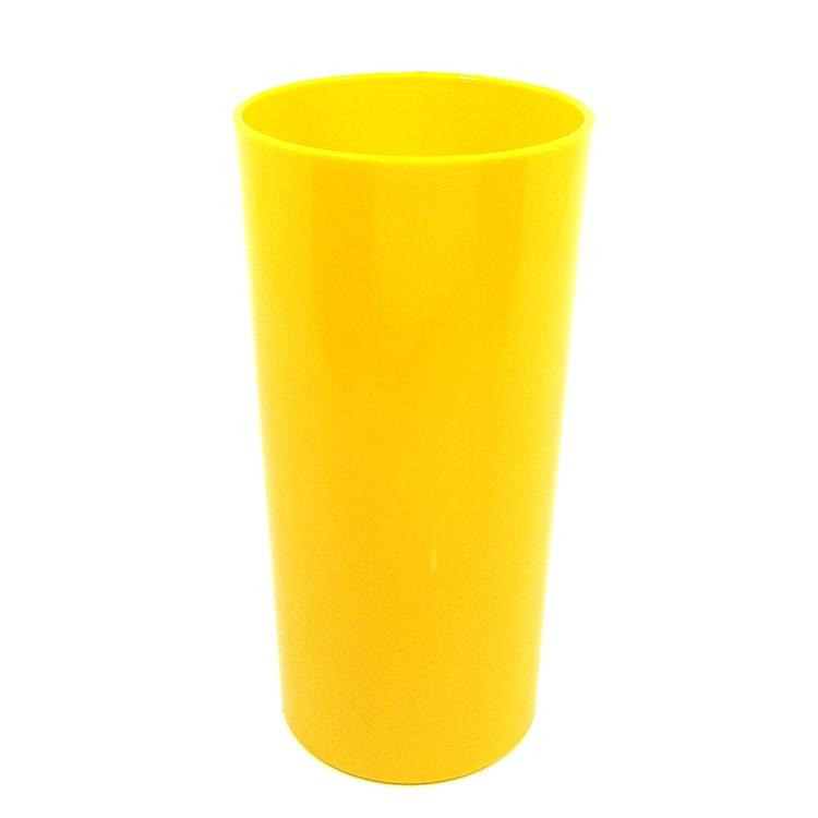 Long Drink Economico 320 Amarelo Solido