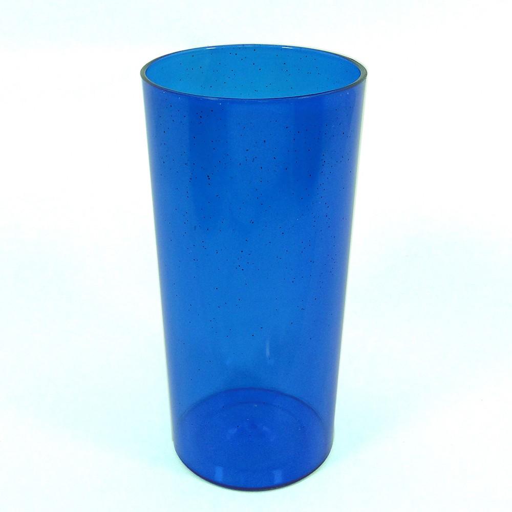 Long Drink Economico 320 Azul Glitter