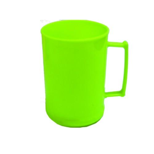 Caneca 450 Luxo Verde Fluor Solida