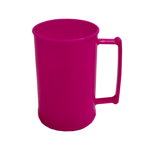 Caneca 300 Luxo Rosa Fluor Solida
