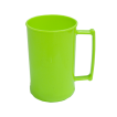 Caneca 300 Luxo Verde Fluor Solida