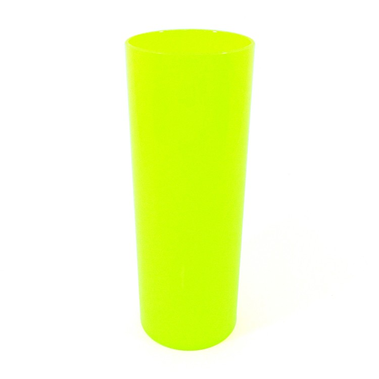 Long Drink 350 Amarelo Fluor Solido