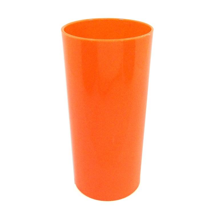 Long Drink Economico 320 Laranja Fluor Solido