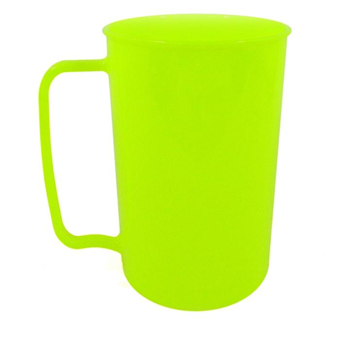 Caneca 300  Amarela Fluor Solida