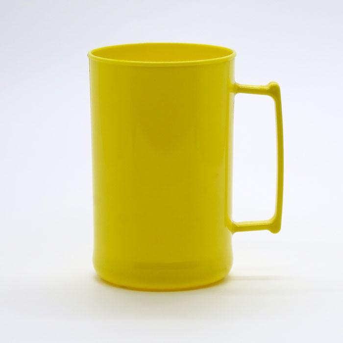 Caneca 300 Luxo Amarela Solida