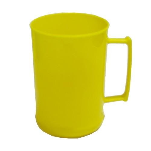 Caneca 450 Luxo Amarela Solida