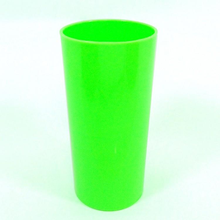 Long Drink Economico 320 Verde Fluor Solido