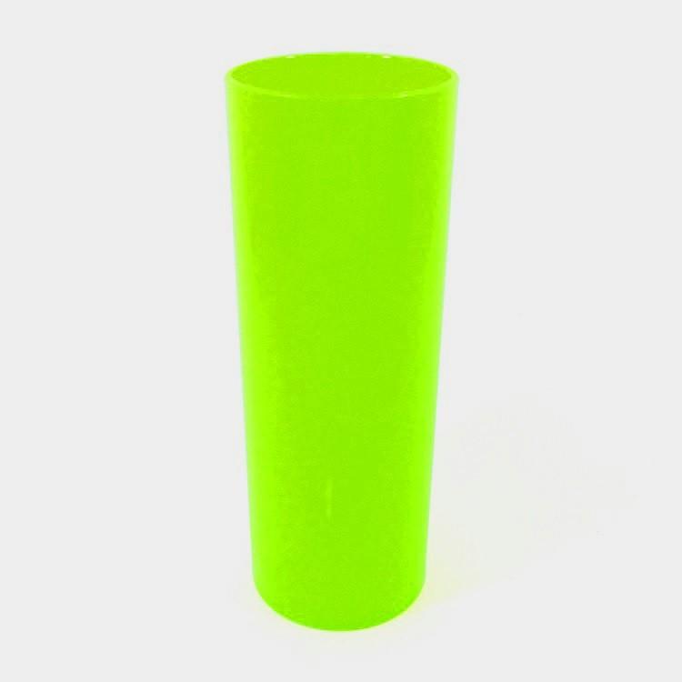 Long Drink 350 Verde Fluor Solido
