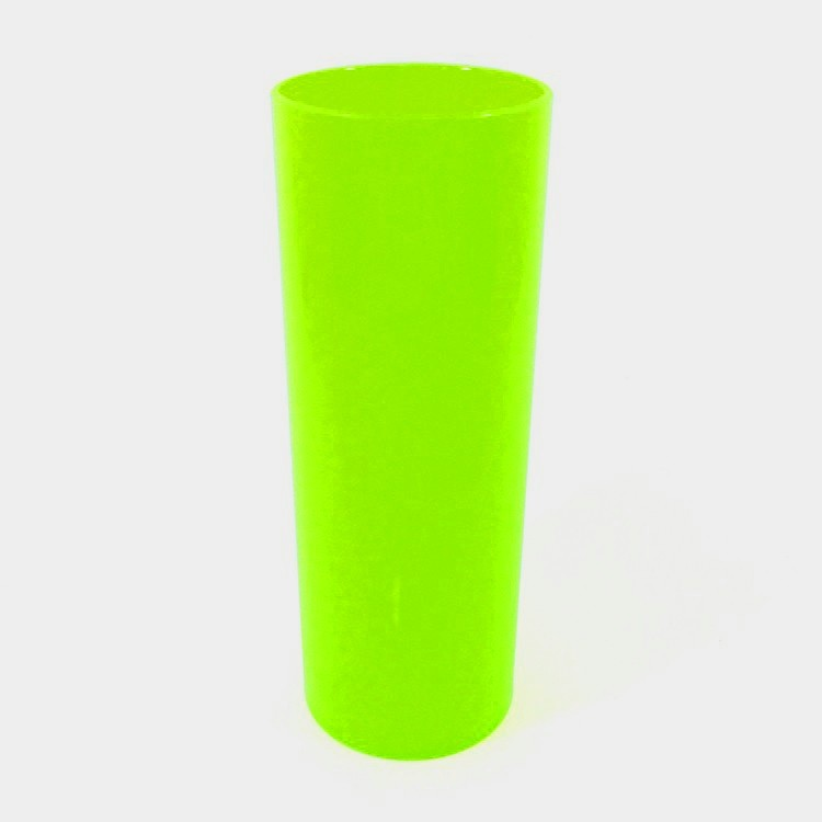 Long Drink 350 Verde Fluor Solido