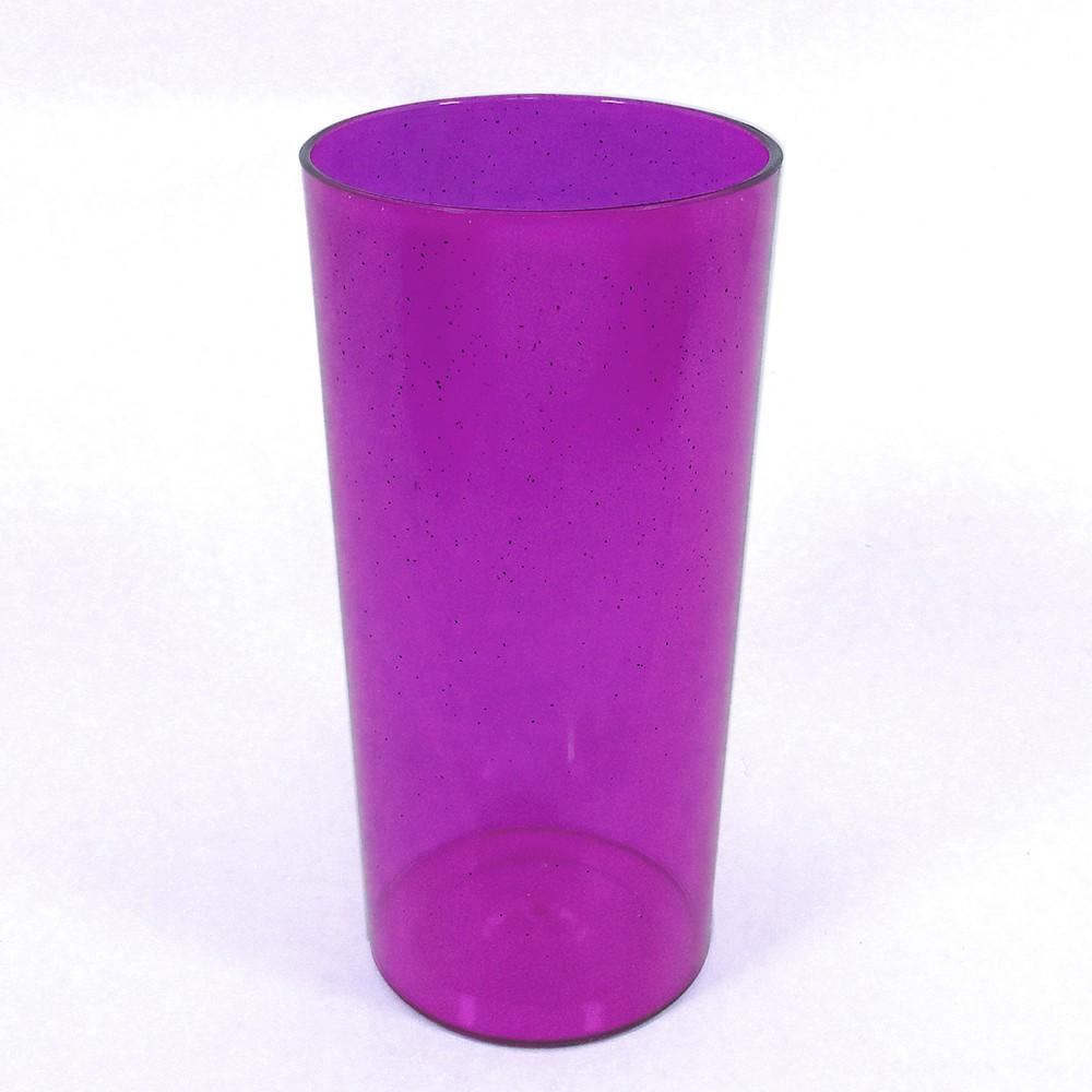 Long Drink Economico 320 Roxo Glitter