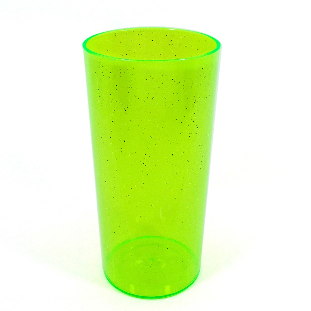 Long Drink Economico 320 Verde Neon Glitter