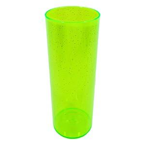 Long Drink 350 Verde Neon Glitter