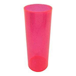 Long Drink 350 Rosa Neon Glitter